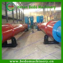 Environmental friendly screw conveyor Wood Sawdust Dryer / Rotary dryer