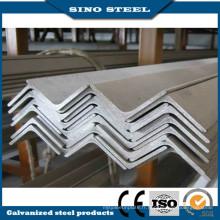 Q235 Grade carbone chaud laminé cornière en acier pour le bâtiment