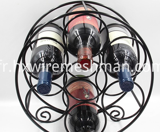 wire wine support