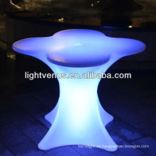el proveedor de China llevó muebles iluminados llevó la lámpara de la silla de la tabla de la barra