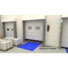 Almacén de uso de contenedores rampa de carga rampa de placa de acero rampa de carga de automóviles