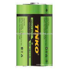 Carbon zinc battery Size D UM-1 R20P