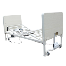 Adjustable height electric nursing bed