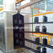 Equipamento de revestimento de pó de qualidade confiável para pintura de perfis de alumínio