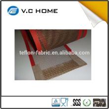 High Temperature Teflon Coated PTFE Glassfiber Fabric Mesh Belt for Rotary Printing Machine