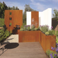 Diseño moderno Corten Steel Planter Flower Pot