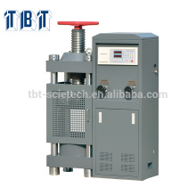 T-BOTA TBTCTM-2000 2000kN Manual Hand wheel Construction Concrete compression testing machine