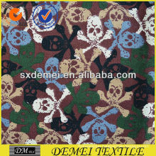 printed skull fabric textil cotton polyester
