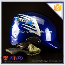 Capacete de motocross de alta performance azul de alta performance atacado