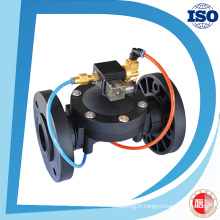 Valve d'irrigation de contrôle automatique de débit d'eau hydraulique