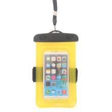 Flutuante de mergulho saco seco impermeável pvc para telefones inteligentes (yky7283)