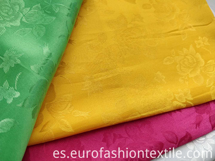 Jacquard Satin Fabric