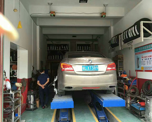 Wheel ALignment for Scissor Lift