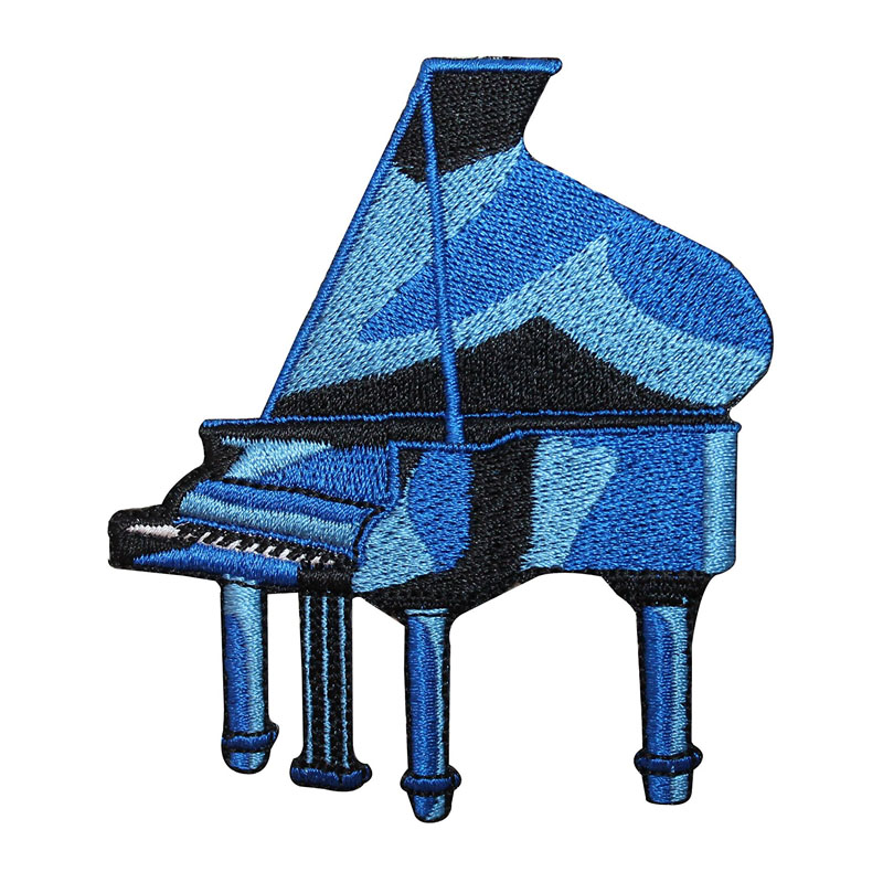 Blue Grand Piano Musical Patch