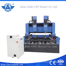 Big size stone 3d engraving machine double heads stone cnc router 3d cnc carving machine