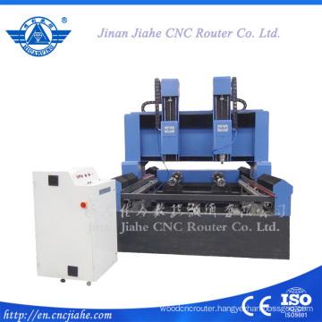 Big size stone 3d engraving machine double heads stone cnc router 3d cnc carving machine