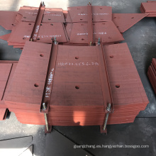 Revestimiento de revestimiento duro para la industria del cemento