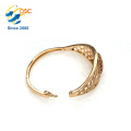 Wholesale Gold Plated Stainless Steel Girls Love Design Bracelets Engraved Bangles Jewellery