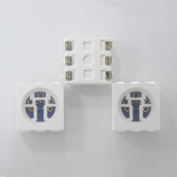 LED de longitud de onda múltiple infrarrojo SMD LED 5050 5 chips