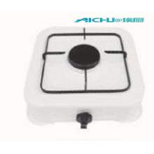 White Color Painting Single Burner Gas Stove