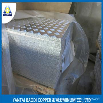 Treadplate de alumínio para Subbase carro