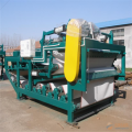 Belt filter press for dewatering