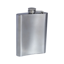 High Quality Classic Style Stainless Steel Liquor Alcohol Flask Square Wine Bottle Hip Flask
