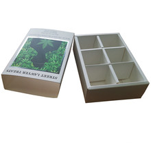 Wholesale Custom Sliding Chocolate Paper Box with Dividers