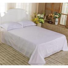 Новая коллекция Кровать Современная кровать Bed Plain White Hotel / Главная Комплект постельного белья (WS-2016070)
