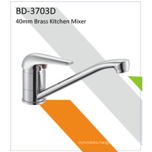 Bd3703D 40mm Brass Single Lever Sink Faucet