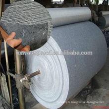 Support en fibre de verre pour membrane de bitume