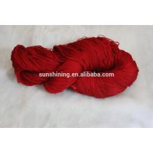 Vente de fils de bambou mélangés pour tapis avec prix d'usine