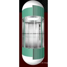 Ce Genehmigte Beobachtung Panorama Aufzug
