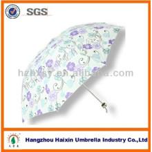 3 Folding Fashion Printing Custom Umbrellas For Sale