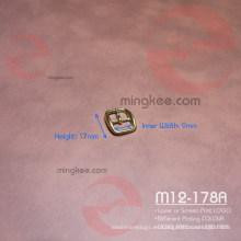Muy pequeño y pequeño cinturón de Hadbag zapatos de reloj hebilla de pasador medio