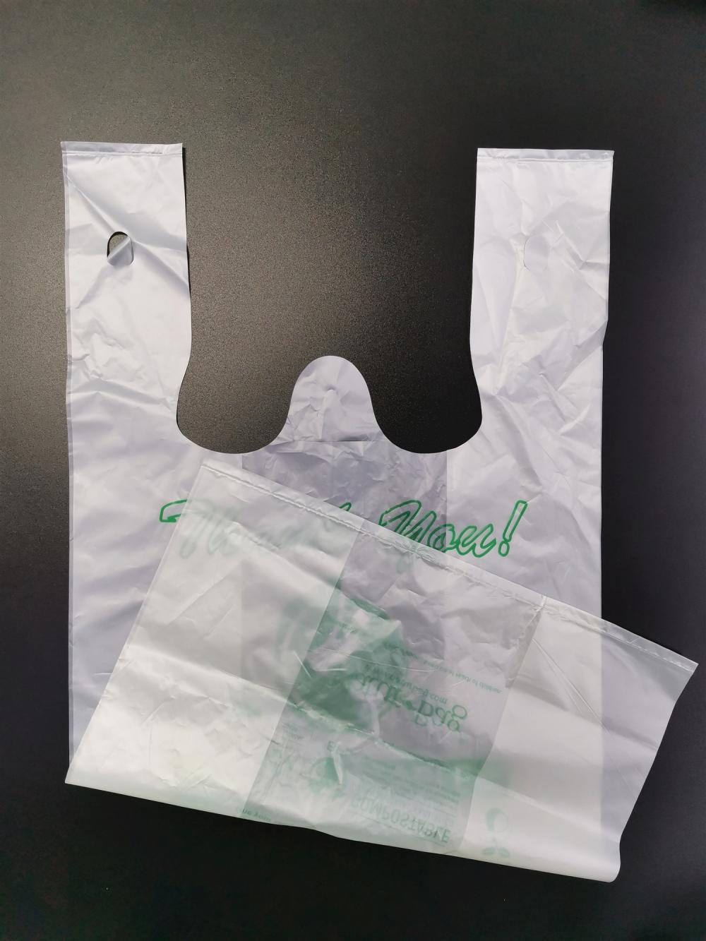 EN13432 Custom Printed Promotional Shopping Bags