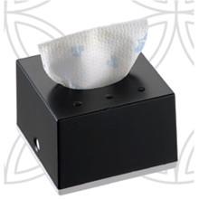 Black Squre Decorative Fancy Public Car Wholesale Wall Mounted Plastic Facial Mini Tissue Box