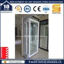 High Quality Aluminum Double Glazing Bi-Fold Door with as 2208-1996