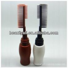 Pump Brush PE Cosmetic Bottle PE comb bottle