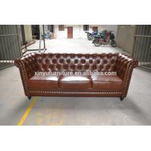 High grade luxury leather living room sofa XYN538