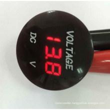 Red LED Auto Car Waterproof Panel Meter Digital Voltmeter