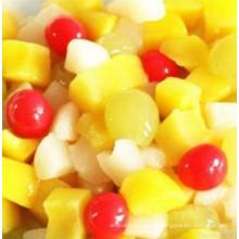 Boa qualidade conservas de coquetel de frutas mistas