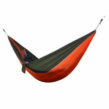 Outdoor Parachute Cloth Hammock 300kg Super Load-Bearing Double Hammock Super Light Anti-Tear Single Hammock