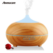 Light Dark Wood Grain Hot Sale Air Humidifier Essential Oil Diffuser Air Conditioning