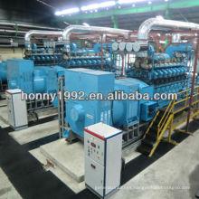 1MW-500MW Generador Diesel / HFO / Gas planta de energía