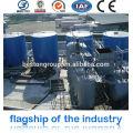 precio de las máquinas de termoformado, Tire Recycling Machine Factory con CE e ISO