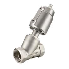Угловой седельный клапан - уплотнение из ПТФЭ
