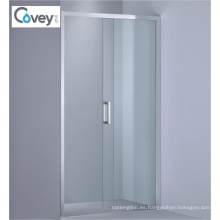Pantalla deslizante de la ducha con las puertas únicas / dobles (AKW07-D)