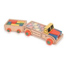 Alphabet And Building Blocks 2 in 1 Car