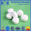 Tablette à base de dioxyde de chlore avec une meilleure efficacité désinfectante